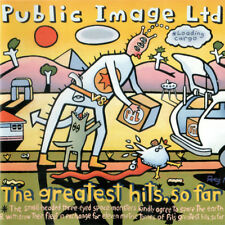PUBLIC IMAGE LTD: THE GREATEST HITS CD JOHN LYDON / SEX PISTOLS / PiL / NEW