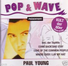 CD SEALED Pop & Wave (greatest hits) Paul Young + Come Back & Stay MAXI version