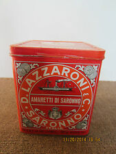 Nautical Decor Italian Tin With Ship Graphics