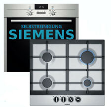 Gas Cooker Stove Herdset Siemens-Oven pyrolysis Gas Hob Stainless Steel New