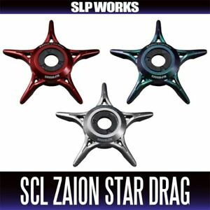DAIWA genuine product SLP WORKS SCL ZAION STAR DRAG RED, SILVER, MOVE