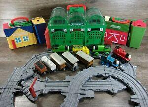 Lot Of Thomas & Friends Sodor Take Along Folding Tracks and Trains