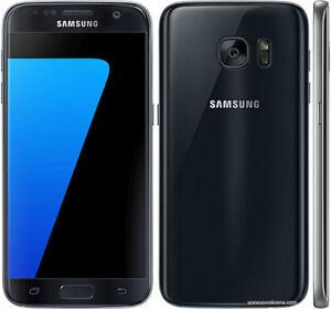 Original Unlocked Samsung Galaxy S7 SM-G930F Smartphone Black+Accessories Gift