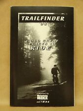 1998 Trailfinder Book by Mountain Bike Magazine United States Trail Bicycling
