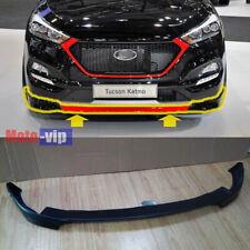 Front Bumper Lip Body Kit UNPAINTED For 2016 2017 Hyundai Tucson
