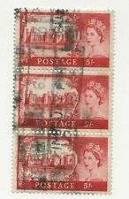 Great Britain Sc# 310 Used Stamps Strip Of 3