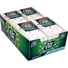 Tic Tac Freshmints Mints Candy Tic Tacs 12 - 1oz Packs Bulk Fresh Mints