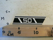 STICKER,DECAL 50 YAMAHA ? WHITE NUMBERS AND STRIPES OR ZUNDAPP ? C
