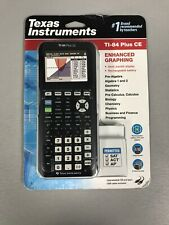 Texas Instruments TI-84 Plus CE Enhanced Graphing Calculator w/ Case BRAND NEW