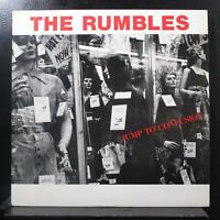 The Rumbles - Jump To Confusion LP Mint- MC-20825 USA 1987 Vinyl Record w/Insert
