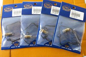 4 NEW SUZUKI GSXR1100 95-98,GSF1200 BANDIT 97-2000 CARB REBUILD KITS K&L 18-5090