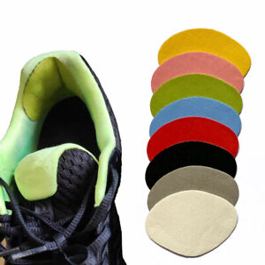 4pcs Heel Protector Repair Stickers Patches Shoes Heel Lining Anti-wear Pad TC