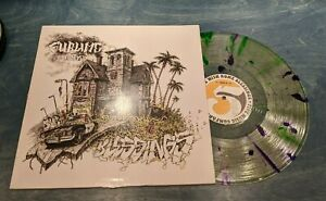 Sublime With Rome Blessings LP Clear Splatter Vinyl