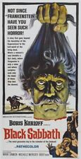 Boris Karloff Black Sabbath horror movie poster print