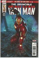 Invincible Iron Man #593 : Marvel Comics : December 2017