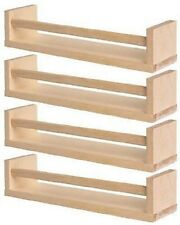 IKEA Bekvam Wooden Spice Jar Rack / Wall Storage Holder – X2 Still in