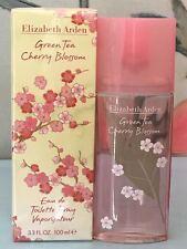 GREEN TEA CHERRY BLOSSOM BY ELIZABETH ARDEN 3.3 OZ 100 ML EDT SPRAY NEW IN BOX