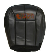 1999-2004 Jeep Cherokee Driver Bottom Synthetic Leather Seat Cover Dark Gray