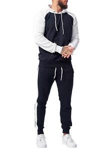Code47 Men's Jogging Tracksuit Fitness Trackies Jogger Sweat Jogger