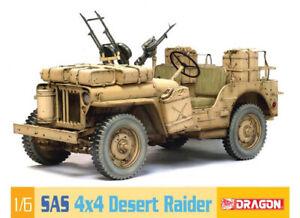1:6 Scale Dragon SAS Desert Jeep