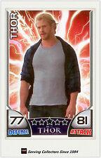 2011 Topps Marvel Universe Hero Attax THOR Movie Card NNO Thor
