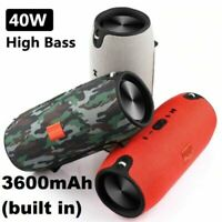 Details about  40W Waterproof Bluetooth Speaker Portable Wireless Stereo