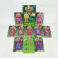 1994 Bandai Auto-Morphin Yellow Power Ranger Trini Collectible Figures Lot of 11