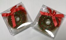 Dunkin Donuts Chocolate Frosted Christmas Holiday Ornament 2012