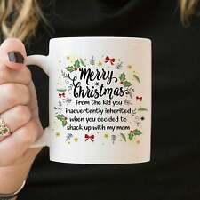 Stepdad Christmas Mug Step Dad Christmas Gift Funny Stepdad Christmas Coffee Mug