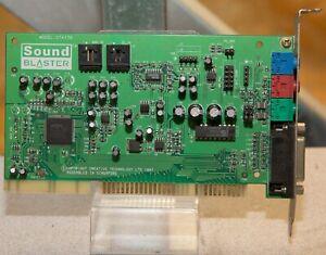 Vintage Creative Labs Sound Blaster 16 Vibra VX CT4170 tested working snd32