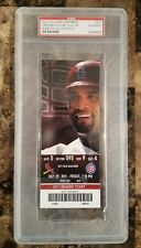 2011 St. Louis Cardinals Vs Cubs ALBERT PUJOLS 2000th Hit Full Ticket PSA RARE