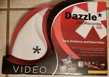 Dazzle DVD Recorder HD Save Enhance Share Capture Video Includes Pinnacle Studio