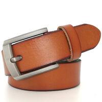Top quality  Mens Belt for Dress 100% Genuine Leather Belt  Big Size 105-160cm