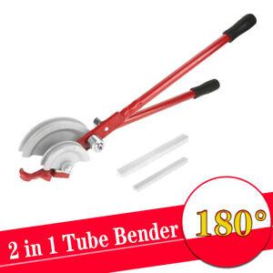 Pipe Tube Bender Heavy Duty 15mm/22mm Plumbing 2In1 Set Wide Range of 180 Degree