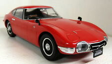 Triple9 1/18 Scale 1967 Toyota 2000 GT Bright red diecast model car