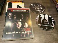 Million Dollar Baby DVD Clint Eastwood Hilary Swank,Morgan Freeman
