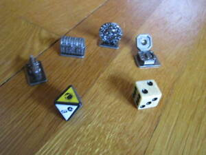 Pirates of the Caribbean Scene It? Movers Antiqued Die Replacement Pieces Parts