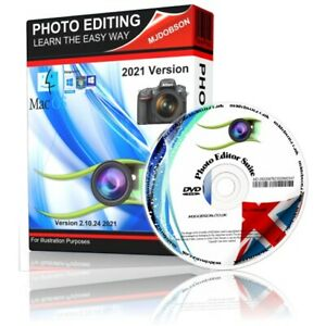 Photograph Editor Windows and Mac Systems 2021 Version Free 1st Class Postage