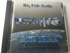 KURZWEIL Ross Garfield ~ The Drum Doctor Does Drums ~ Original Cd-Rom ~ K2000!!!
