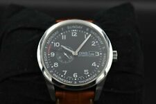 Oris automatic men's watch day date pointer