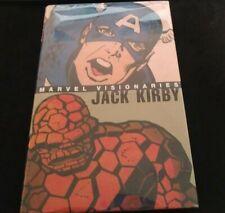 MARVEL VISIONARIES, JACK KIRBY, HARD COVER