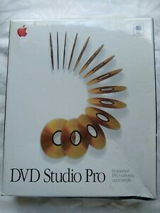 Apple DVD Studio Pro 1.0 For Mac NEW SEALED SHOP DAMAGE TO CORNER
