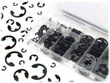 120Pcs E-Clip & Retaining Ring Assortment Kit 1.5 2 3 4 5 6 7 8 9 10 mm Circlip