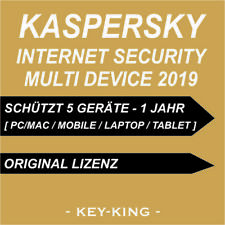 Kaspersky Internet Security 2019 Multi Device [EU] 5 PC 1 YEAR [KEY] VOLLVERSION