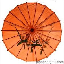 JapanBargain S-2197 Japanese Chinese Umbrella Parasol, Light Orange 32 inches