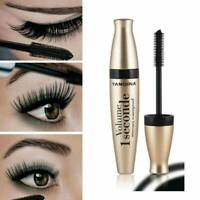 Waterproof Black 3D Fiber Long Curling Eyelash Mascara Extension Makeup Cosmetic