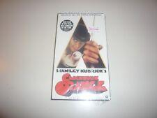Clockwork Orange Vhs Video Tape Tower Records