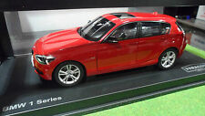 BMW 1 SERIES rouge au 1/18 de PARAGON PA - 97004 voiture miniature de collection