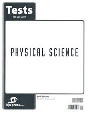 BJU Physical Science Tests Fifth Edition - 9th Grade