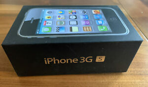 Apple iPhone 3GS Black 8 GB  EMPTY Box (NO Phone) Comes with Plastic Tray